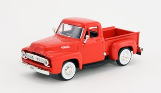 1:43 1953 Ford F-100 Pickup (Red)