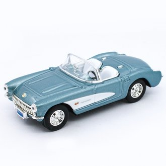 1:43 1957 Corvette Convertible (Blue Metallic)