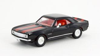 1:43 1967 Chevy Camaro Z-28 (Black w/Red Racing Stripes)