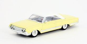 1:43 1964 Mercury Marauder (Light Yellow/White)