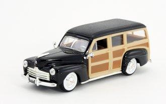 1:43 1948 Ford Woody (Black)