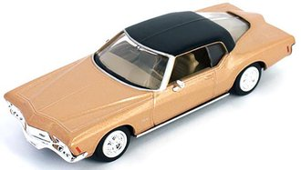 1:43 1971 Buick Riviera GS (Coronet Gold Poly w/Black Vinyl Top)