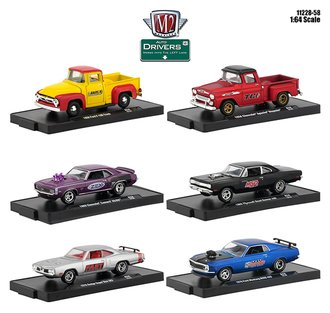 1:64 Auto-Drivers Release 58 (Set of 6)