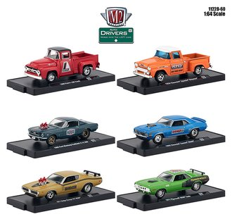 1:64 Auto-Drivers Release 60 (Set of 6)