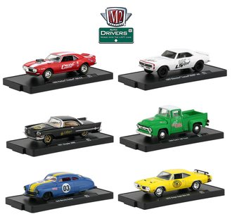 1:64 Auto-Drivers Release 61 (Set of 6)