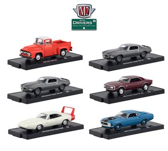 1:64 Auto-Drivers Release 62 (Set of 6)