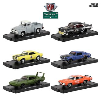 1:64 Auto-Drivers Release 65 (Set of 6)