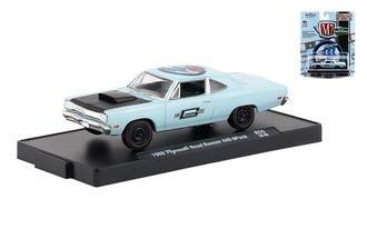 "1:64 1969 Plymouth Road Runner 440 6-Pack""Mr. Gasket"""