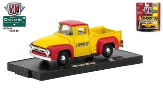 "1:64 1956 Ford F-100 Pickup Truck ""Earl's Performance Plumbing"""