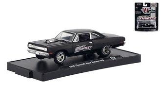 "1:64 1969 Plymouth Road Runner 440 ""Flowtech Exhaust"""