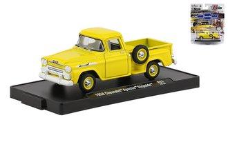 1958 Chevrolet Apache Step Side Pickup Truck (Golden Yellow)