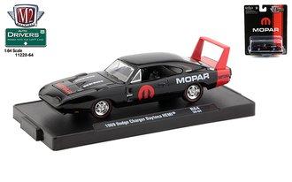 "1969 Dodge Charger Daytona HEMI ""MOPAR"" (Gloss Black w/Red Stripe)"