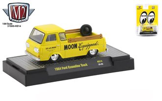 "1:64 1964 Ford Econoline Truck ""Mooneyes Equipped"""