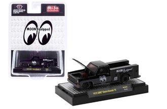 "1:64 Auto-Trucks 1975 GMC Sierra Utility ""Mooneyes Equipped"""