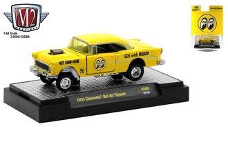 """1:64 Special Release - 1955 Chevrolet Bel Air Gasser """"Mooneyes"""""""