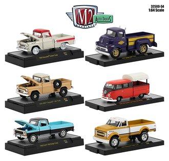 1:64 Auto-Trucks Release 54 (Set of 6)