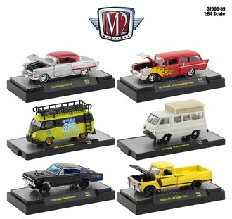 1:64 Auto-Thentics/Shows/Trucks/Gassers Release 59 (Set of 6)