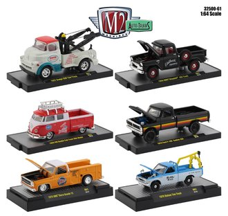 1:64 Auto-Trucks Release 61 (Set of 6)