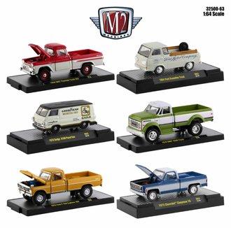 1:64 Auto-Trucks Release 63 (Set of 6)