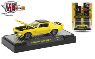 "1:64 1970 Chevrolet Camaro Z/28 RS ""Hurst Sunshine Special"" (Yellow w/Black Stripes)"