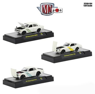 1:64 Auto-Japan - Datsun & Nissan (Set of 3)