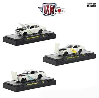 1:64 Auto-Japan - Datsun & Nissan (Set of 3)