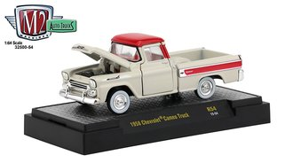1958 Chevrolet Cameo Pickup Truck (Bombay Ivory/Cardinal Red)