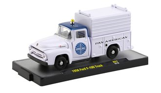 "1956 Ford F-100 Service Truck ""Pan Am"" (Bright White/Dark Blue)"