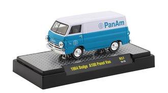 "1964 Dodge A100 Panel Van ""Pan Am"" (Bright White/Blue)"