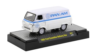 "1965 Ford Econoline Delivery Van ""Pan Am"" (Bright White/Silver)"