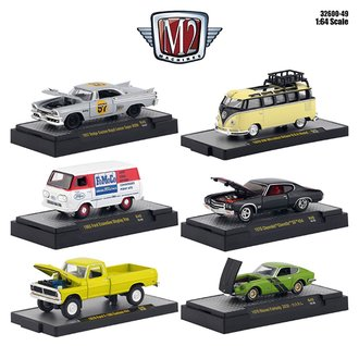 1:64 Auto-Meets Release 49 (Set of 6)