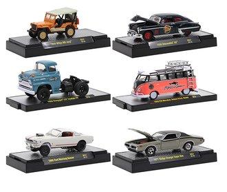 1:64 Auto-Thentics / Auto-Trucks / Gasser / Volkswagen Release 57 (Set of 6)
