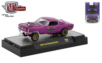 1:64 Special Release - 1966 Ford Mustang Gasser (#34 Mag Purple)