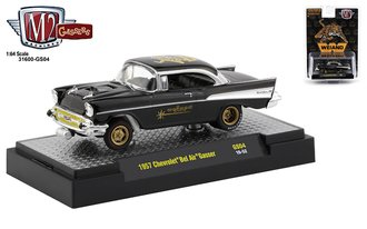 "1:64 Special Release - 1957 Chevrolet Bel Air Gasser ""Weiand"" (Black)"