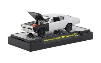 1:64 1968 Plymouth Barracuda HEMI Super Stock (Gray Primer w/Semi-Gloss Hood & Fenders)