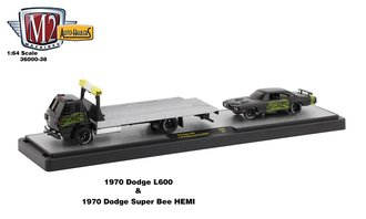 "1979 Dodge L660 Truck w/1970 Dodge Super Bee HEMI ""426 Mopar"" (Gloss Black)"