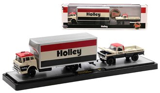 """1966 Ford C-950 & 1972 Ford F-250 Explorer 4x4 """"Holley"""""""