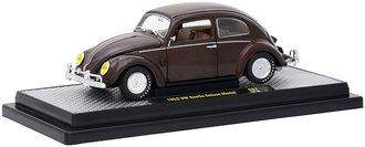 1:24 1952 VW Beetle Deluxe Model (Pearl Brown)