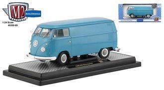1:24 1960 VW Delivery Van (Dove Blue)