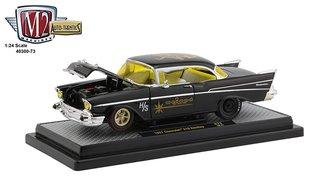 "1:24 1957 Chevrolet 210 Hardtop ""Weiand"" (Gloss Black)"