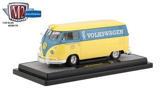 1:24 1960 VW Delivery Van (Yukon Yellow/Dove Blue)