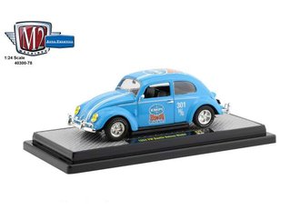 "1:24 1952 Volkswagen Beetle Deluxe Model ""EMPI"" (Blue)"