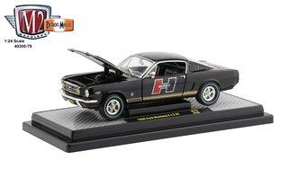 """1:24 1966 Ford Mustang GT 2+2 """"Hurst"""" (Gloss Black)"""