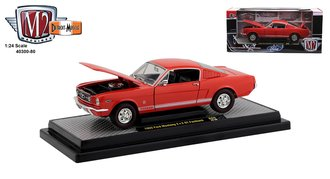 1:24 1965 Ford Mustang GT 2+2 Fastback (Rangoon Red)