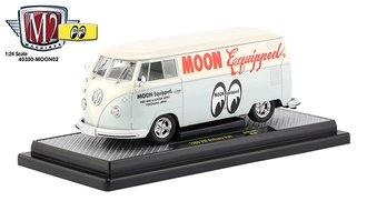 """1:24 1960 VW Delivery Van """"Mooneyes"""""""