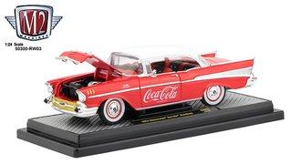 Coca-Cola 1:24 1957 Chevrolet Bel Air Hardtop (Red)