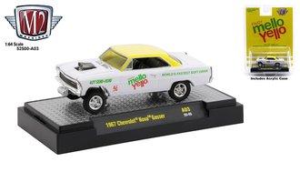 """1967 Chevrolet Nova Gasser """"Mello Yello"""""""
