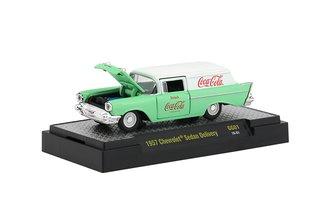 1:64 Coca-Cola 1957 Chevrolet Sedan Delivery (Georgia Green/White)