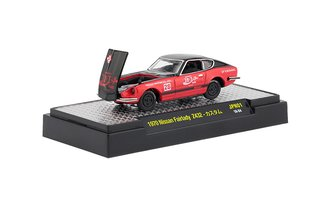 1:64 Coca-Cola 1970 Nissan Fairlady Z432 (Red/Black)