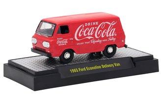 1:64 Coca-Cola 1965 Ford Econoline Delivery Van (Red)